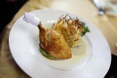 Prato de Kiev de galinha Fotos de Stock Royalty Free