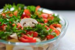 Prato de legumes frescos imagem de stock royalty free