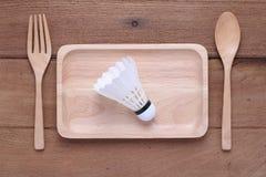 Prato de madeira Foto de Stock Royalty Free