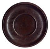 Prato de madeira japonês vazio imagens de stock royalty free