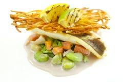 Prato de peixes Fotos de Stock