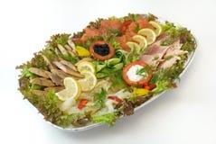 Prato de peixes. Imagem de Stock