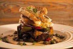 Prato de peixes mediterrâneo. Foto de Stock Royalty Free