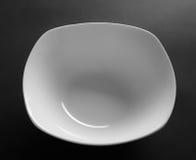 Prato de porcelana branco fotos de stock