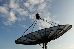 Prato de satélites Imagem de Stock