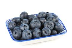 Prato de uvas-do-monte frescas Fotografia de Stock