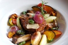 Prato de vegetariano Fotos de Stock Royalty Free