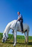 Prato del cavallo Immagini Stock Libere da Diritti