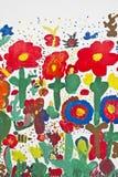 Prato del fiore Fotografie Stock Libere da Diritti