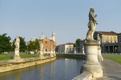 Prato della Valle Royalty Free Stock Photography