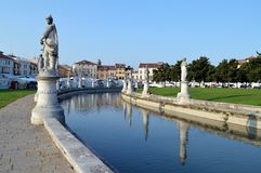 Prato della valle royalty free stock images