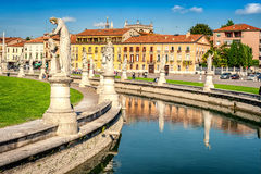 Prato della Valle Royalty Free Stock Photo
