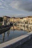 Prato della Valle kwadrat w Padova Fotografia Royalty Free