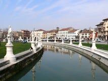 Prato della Valle - Padova (Padua) - Italy Stock Photos