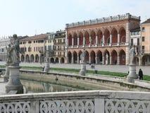 Prato della Valle, Padova (Padua), Italy Stock Images