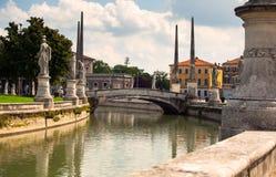 Prato della Valle, Padova Stock Image