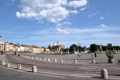 Prato della Valle, Padua Royalty Free Stock Images