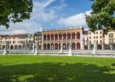 Prato della Valle, Padua Lizenzfreies Stockbild