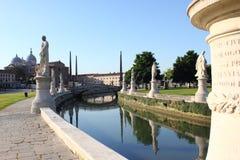 Prato-della Valle Padua Lizenzfreie Stockfotografie