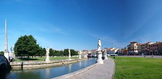Prato della Valle, Padua, Italy Royalty Free Stock Images