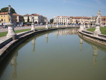 Prato della Valle, Padua, Italy Royalty Free Stock Image