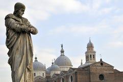 Prato della Valle, Padua, Padua, Veneto, Italien Lizenzfreie Stockfotos