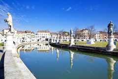 Prato della Valle in Padua, Veneto, Italy. Stock Photography