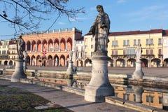 Prato della Valle square in Padova, Italy Stock Image