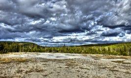 Prato di Yellowstone Fotografie Stock Libere da Diritti