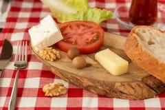 Prato do café da manhã Imagens de Stock