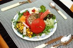 Prato do camarão. fotografia de stock royalty free