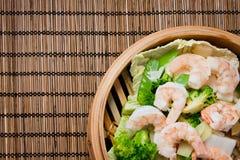 Prato do chinês da dieta Fotos de Stock