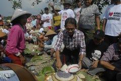PRATO DO NACIONAL DE INDONÉSIA Imagem de Stock Royalty Free