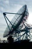 Prato do telescópio de rádio Imagens de Stock