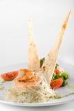 Prato dos camarões Imagem de Stock