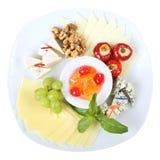 Prato dos queijos Foto de Stock