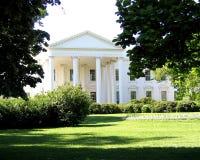 Prato inglese del nord della Casa Bianca  Fotografia Stock