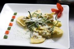 Prato italiano delicioso da massa Foto de Stock