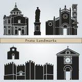 Prato landmarks and monuments Stock Photography