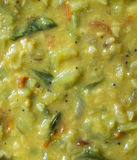 Prato lateral vegetal Imagens de Stock