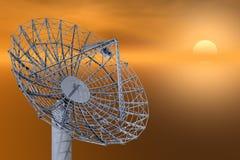 Prato satélite ilustração stock