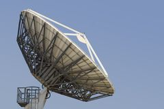 Prato satélite #4 Imagem de Stock Royalty Free
