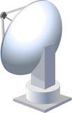 Prato satélite ilustração do vetor