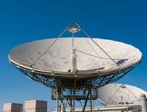 Prato satélite de rádio Imagens de Stock