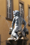 Prato (Tuscany), ancient fountain Royalty Free Stock Photography