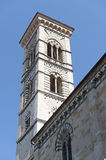 Prato (Tuscany), cathedral belfry Stock Photos
