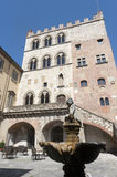 Prato (Tuscany), Palazzo Pretorio Royalty Free Stock Photo