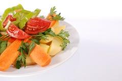 Prato vegetal Imagens de Stock Royalty Free