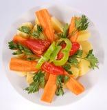 Prato vegetal Foto de Stock Royalty Free