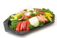 Prato vegetal. Imagem de Stock